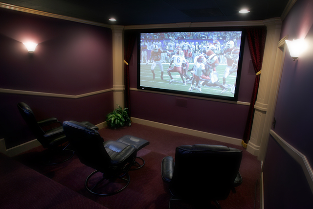 Custom home theater from the wiring guy surround sound systems sciox Images